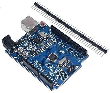 Amazon.com: DarEnterprises Arduino - Placa compatible UNO R3 ...