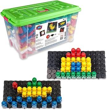 Juego Movil Juego movil86352 Pixel Color mosaico con arena temporizador en caja de juguetes (XL), 926-piece) , color/modelo surtido: Amazon.es: Juguetes y juegos