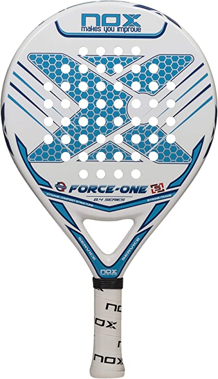 Pala de pádel NOX Force One: Amazon.es: Deportes y aire libre