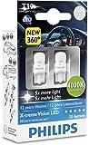 Philips 127994000KX2 bombilla para coche - bombilla para coches (0,8W, T10, LED)