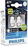 Philips X-tremeVision LED W5W T10 4000K 127994000KX2, 2er Karton