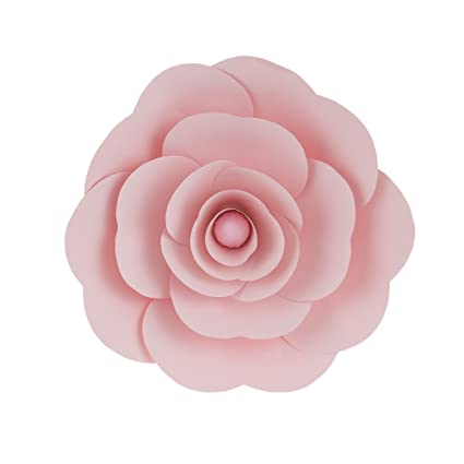 Amazon mega crafts 12 handmade paper flower in pink for mega crafts 12 handmade paper flower in pink for home dcor wedding mightylinksfo