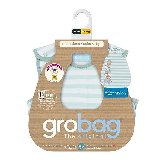 Grobag Jungle Stack - Saco de dormir Talla:6-18 meses