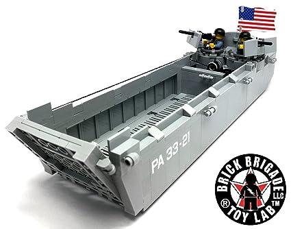 Amazon Brick Brigade Custom Lego Military Vessel Model Set Us
