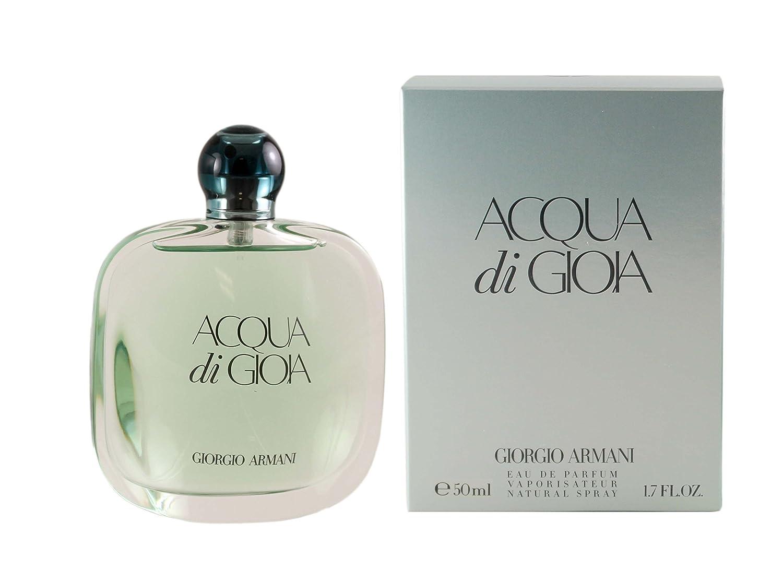 Giorgio Armani Acqua Di Gioia Eau de Parfum Spray for Women, 3.4 Fluid Ounce GA559909