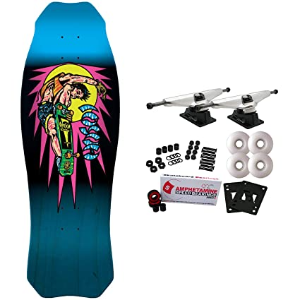 Amazon.com: Santa Cruz – Monopatín Hosoi Rocket Air Blue 9 ...