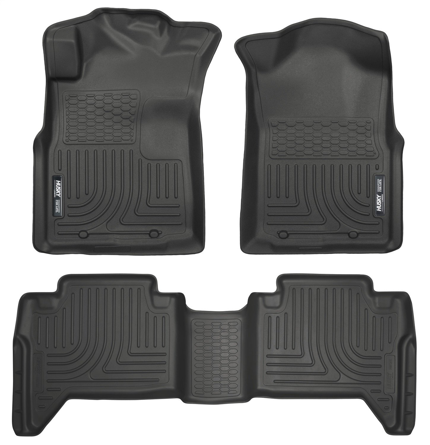 Husky Liners Front & 2nd Seat Floor Liners Fits 05-15 Tacoma Double Cab 98951