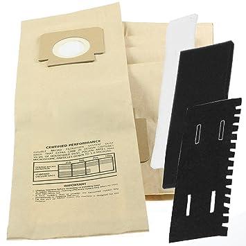 Spares2go H4 H18 - Bolsas de papel para aspiradora Hoover ...