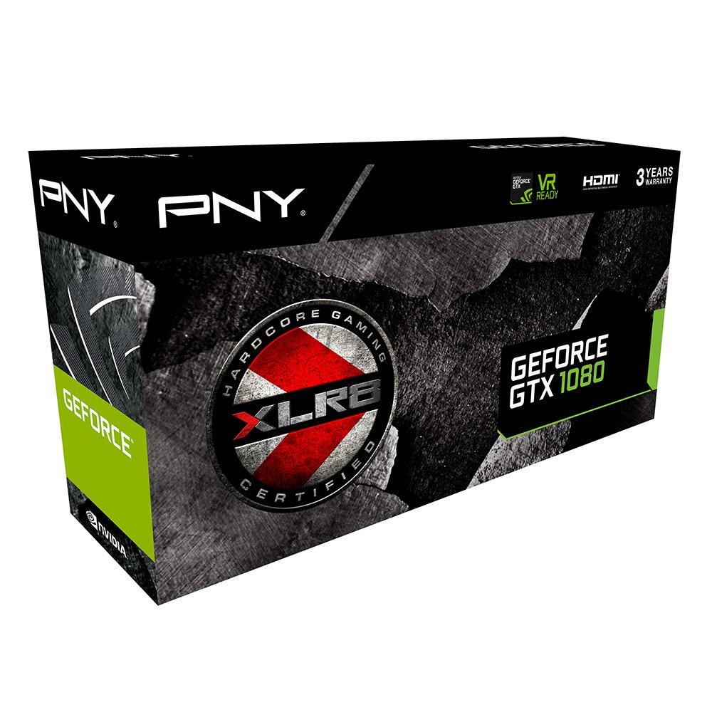 8 GB PNY Nvidia GeForce GTX 1070 OC GAMING Graphics Card GDDR5