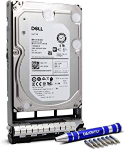 """Dell 400-AMPG 8TB 7.2K SAS 3.5"""" HDD PowerEdge Enterprise Hard Drive in 13G Tray Bundle with Compatily Screwdriver Compatible with GKWHP 400-AMPD R430 R730 T330 R330 R530 Hardware Parts and Servers"""