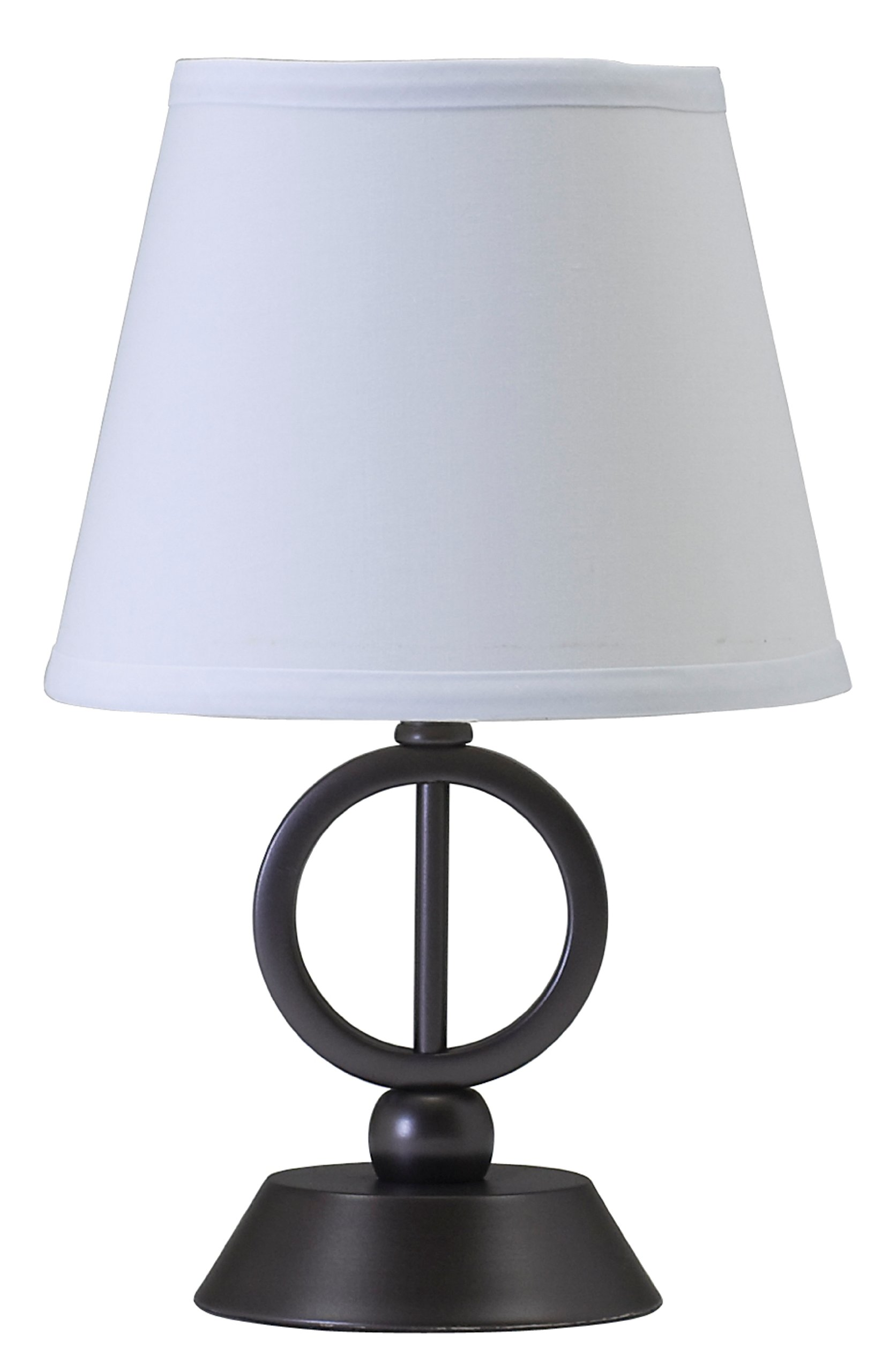 House of Troy CH875-OB Coach Collection 14-Inch Portable Accent Table Lamp, Oil Rubbed Bronze