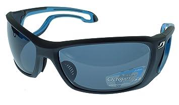 Julbo Pipeline Gafas de Sol - Matt Negro/Azul - Pulpo polarizadas Lentes fotocromáticas Oleophobic
