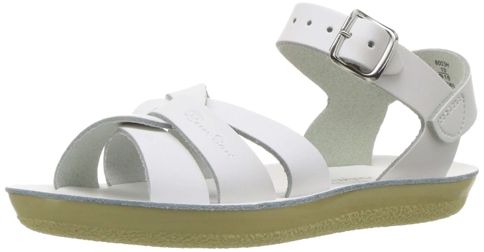 Salt Water Sandals by Hoy Shoe Sun-San Swimmer,White,9 M US Toddler