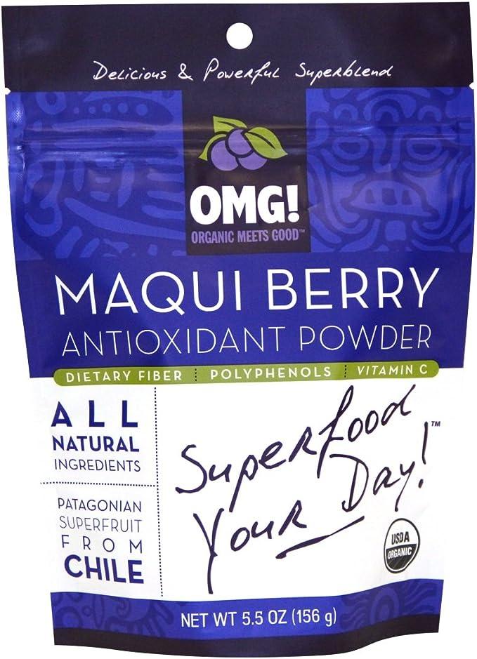 Amazon Com Antioxidant Maqui Berry Powder Superblend Health