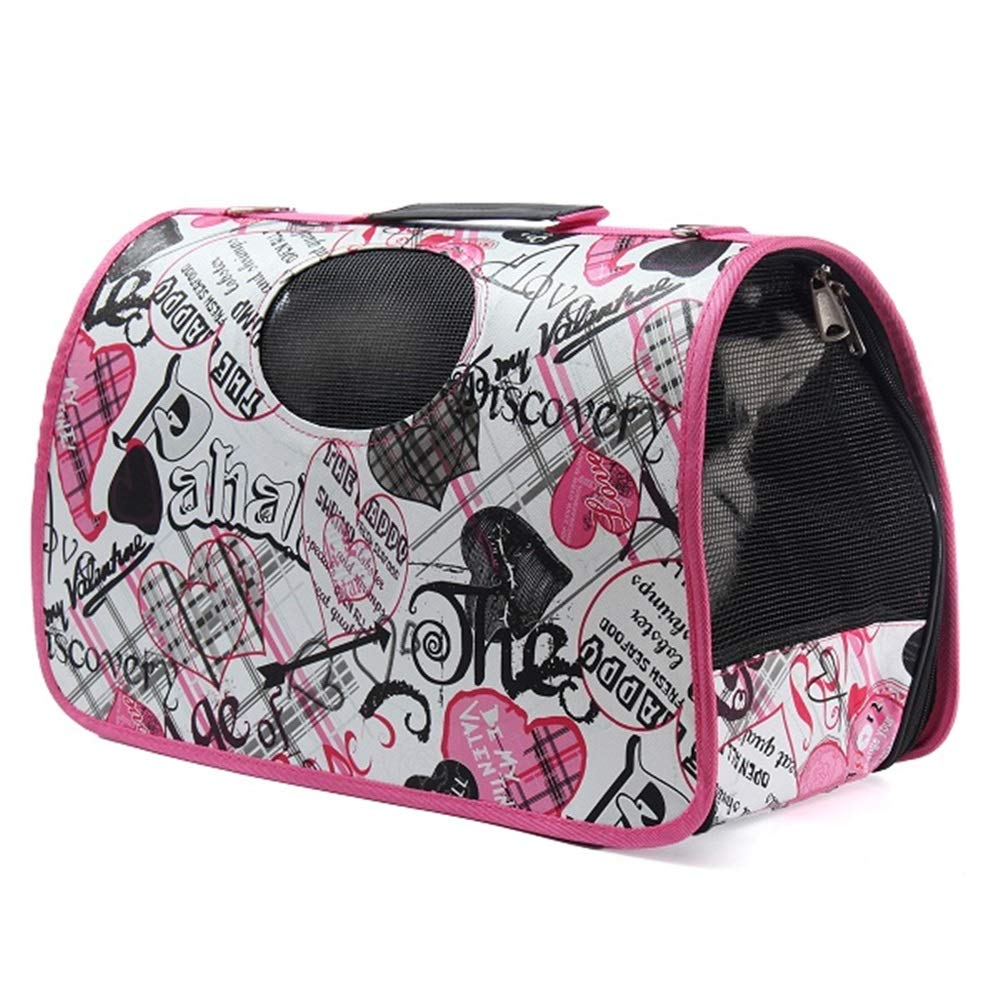 Fishagelo Expandable Pet Carrier Dog Cat Folding Travel Carry Bag Portable Airline Approved Pet Carrier Fishagelo