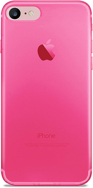 PURO Cover 0.3 Nude per iPhone 7/8, Rosa