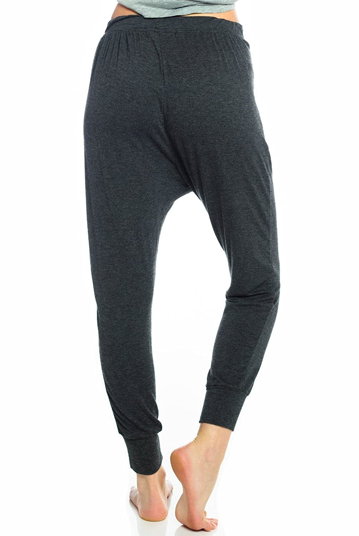 Spiritual Gangster Harem Pant-Vintage Black-L Womens Active Workout Pant Vintage Black