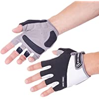 Breathable Half Finger/Fingerless Unisex Out Door Sport Road Racing Bicycle Cycling Glove with Shock Absorbing