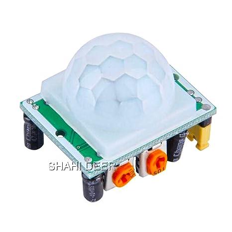 SHAHIDEER HC-SR501 cuerpo humano Piroelectricidad infrarrojo PIR Motion Sensor módulos DIY Detector De Movimiento