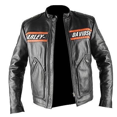WWE Bill Goldberg Harley Davidson Vintage Motorrad Lederjacke