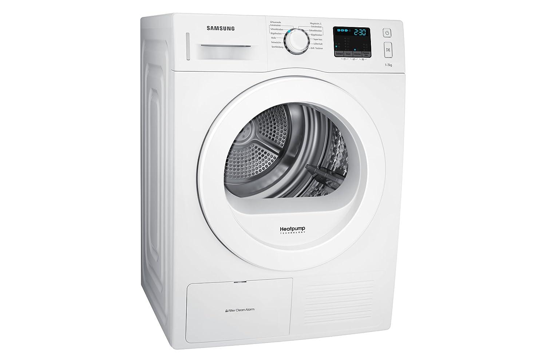 Samsung dv f e hgw eg wärmepumpentrockner a kg weiß amazon