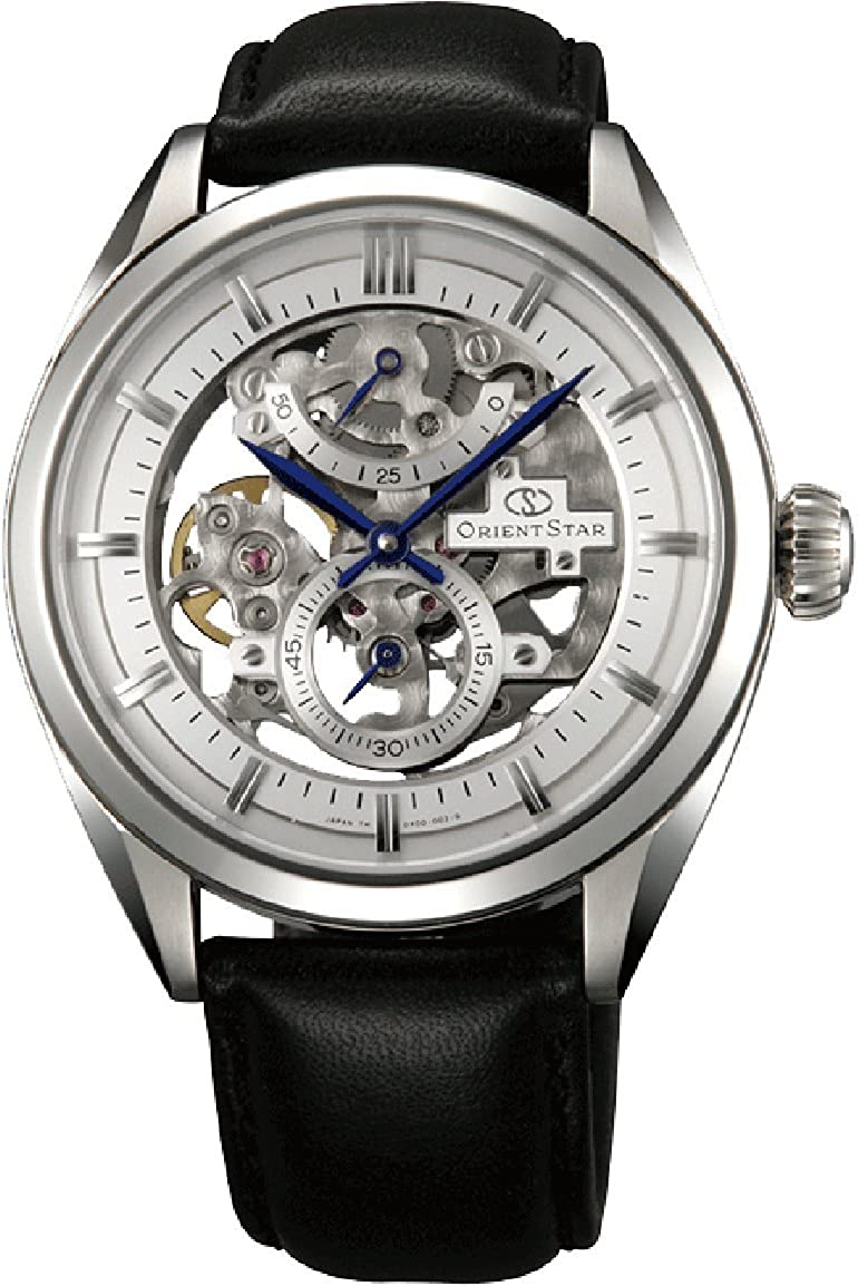 "ORIENT STAR Classic""Full Skeleton"" 50 Hours Power Reserve Sapphire Hand Winding Dress Watch DX00002W"