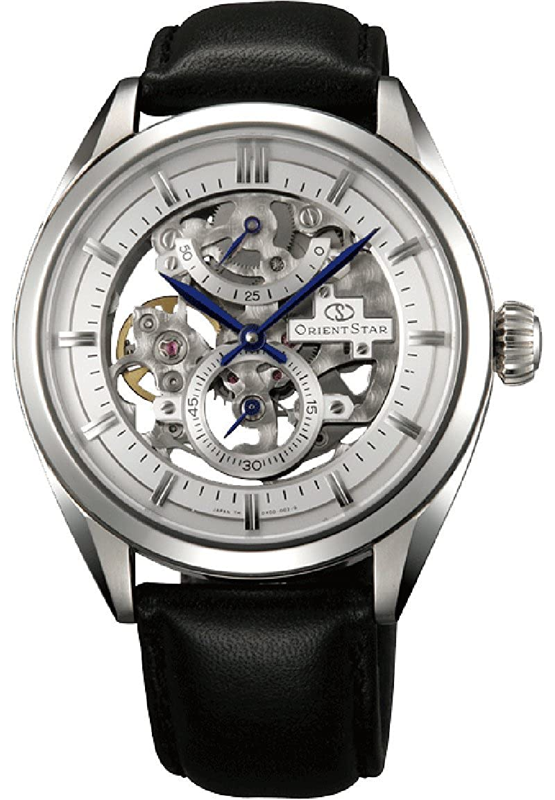 """ORIENT STAR Classic""""Full Skeleton"""" 50 Hours Power Reserve Sapphire Hand Winding Dress Watch DX00002W"""