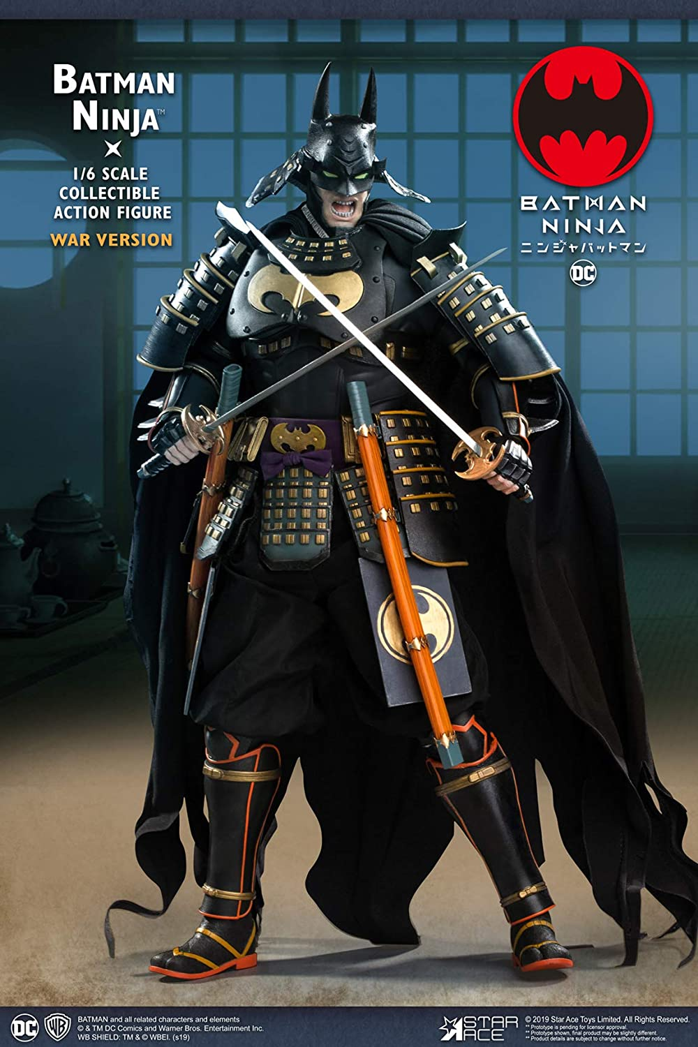 Amazon.com: Star Ace Toys Batman Ninja (Deluxe War Version ...