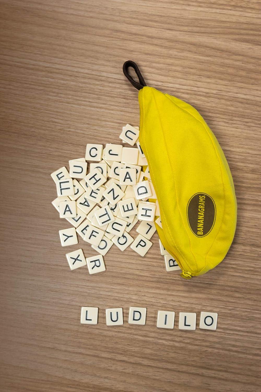 L/údilo 80364 Bananagrams Jeu de Mots Multicolore