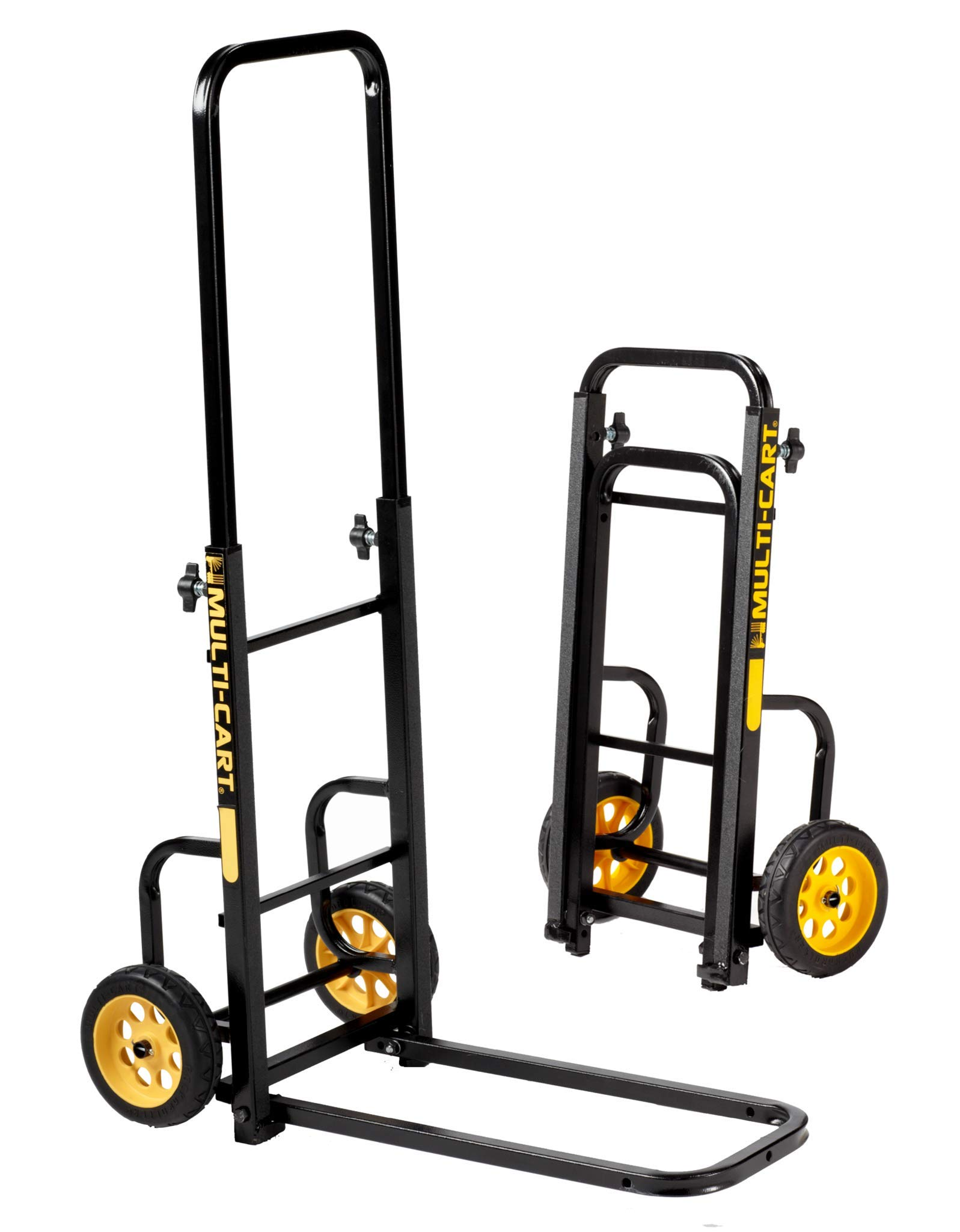 Rock-N-Roller RMH1 Mini-Handtruck with 200 lbs. Load Capacity, Black