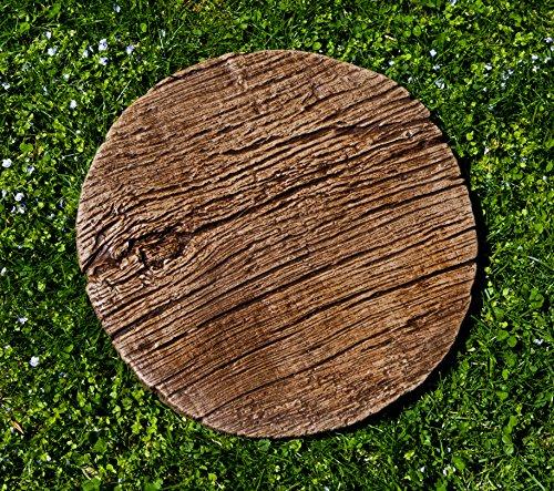 Campania International E-122-FR Faux Bois Stepper Step Stone, Ferro Rustico (Faux Stone Patio)