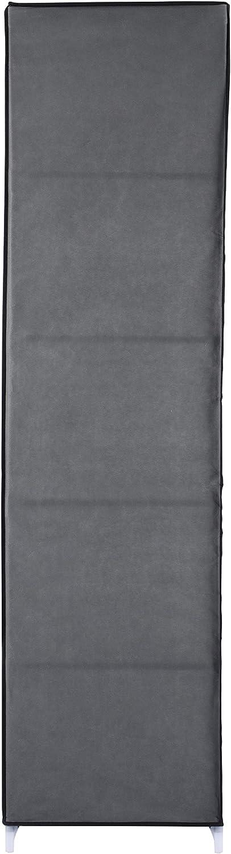 Gris ca Ribelli Armario ropero de Fieltro vell/ón 150x175x45 cm