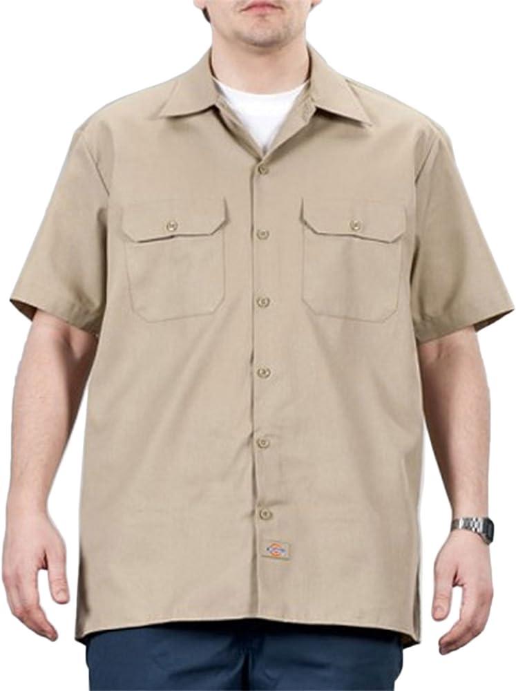 Dickies Camisa de trabajo con manga corta Khaki DICKIES1574KH: Amazon.es: Ropa y accesorios