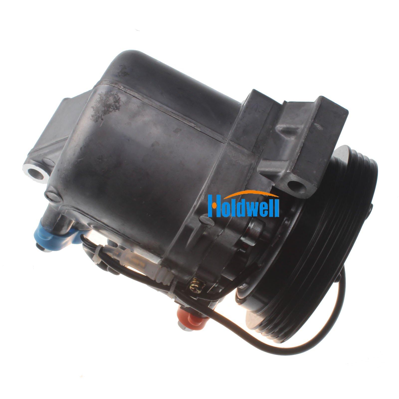 Holdwell Auto AC Compressor 95201-77GB2 9520177GB2 for Suzuki Jimny Seiko Seiki SS07LK10 by Holdwell (Image #5)