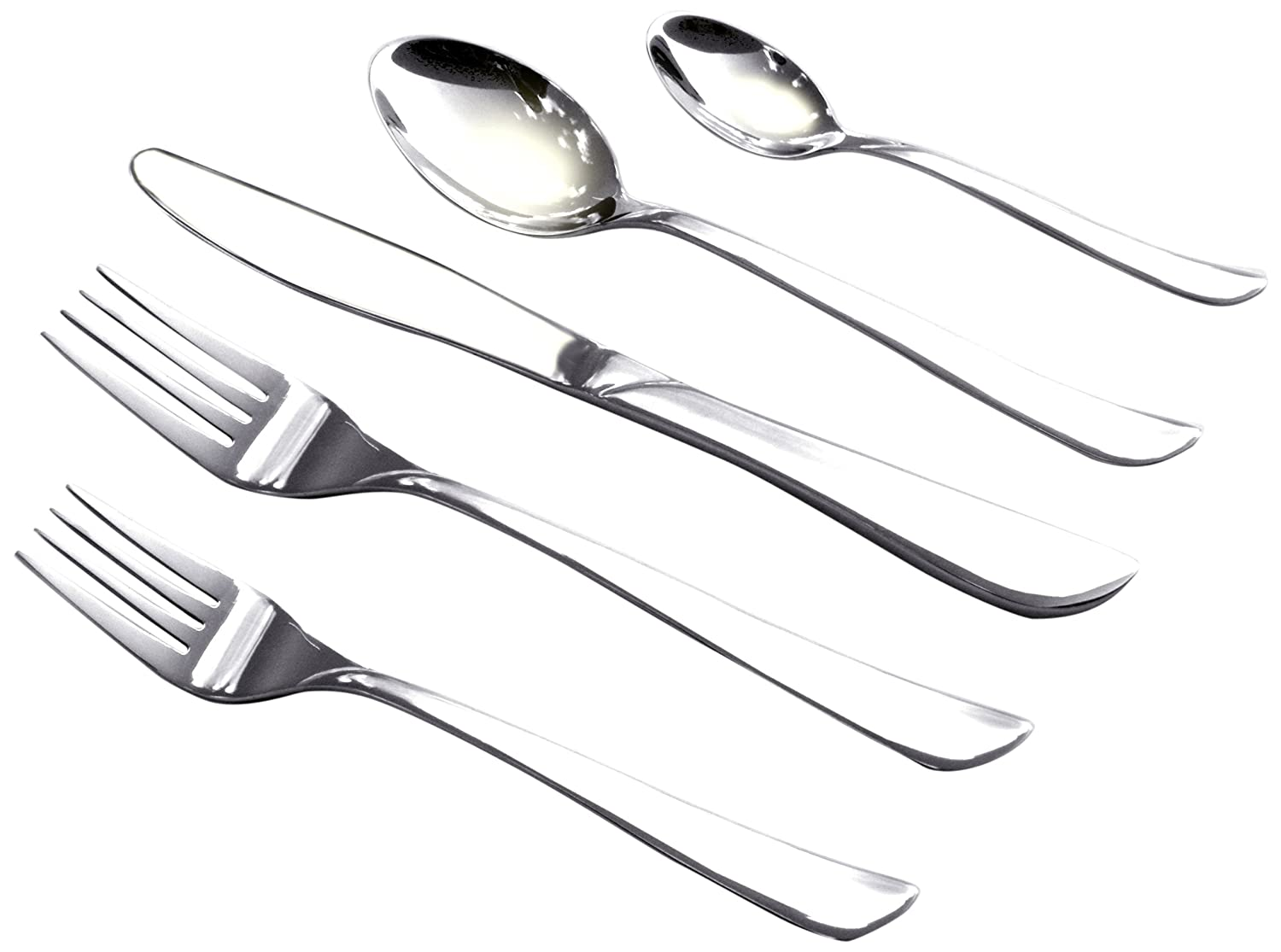 Amazon.com | Cuisinox Marilyn 20-Piece Flatware Set: Cubiertos: Flatware Sets