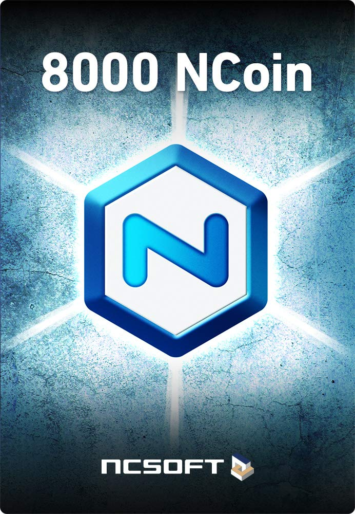 NCsoft NCoin 8000 [Online Game Code] by NCSOFT