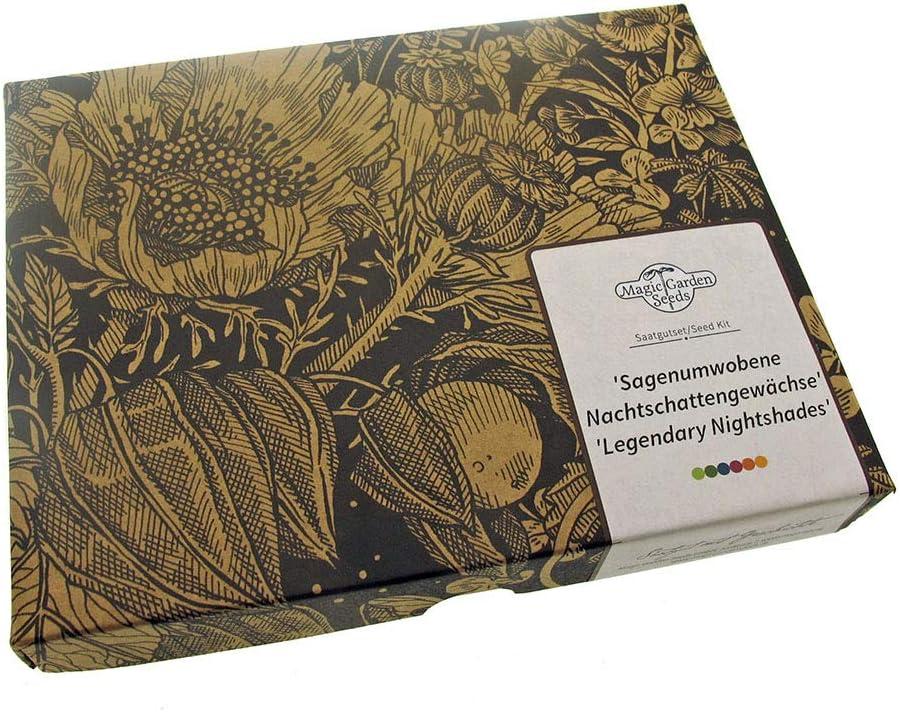 Kit de semillas regalo: 'Solanáceas legendarias'