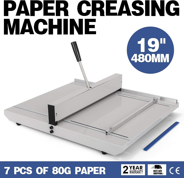 Chrisun Machine A Ecrire Manuelle Marqueur De Papier 18.9IN 480MM Avec Fond De Panier Magn/étique A3