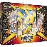 Pokémon POK80869 TCG: Skinande öden Pikachu V låda, blandade färger