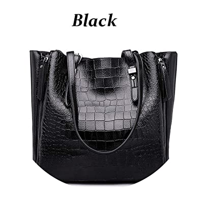 Amazon.com: Bolsas de lujo para mujer, bolsa de piel ...