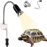 GOLDGE Lámpara para Tortuga, Bombilla compacta Spectrum Terrario Lámpara de Tortuga, 360 Grados Adecuado para Tortugas…