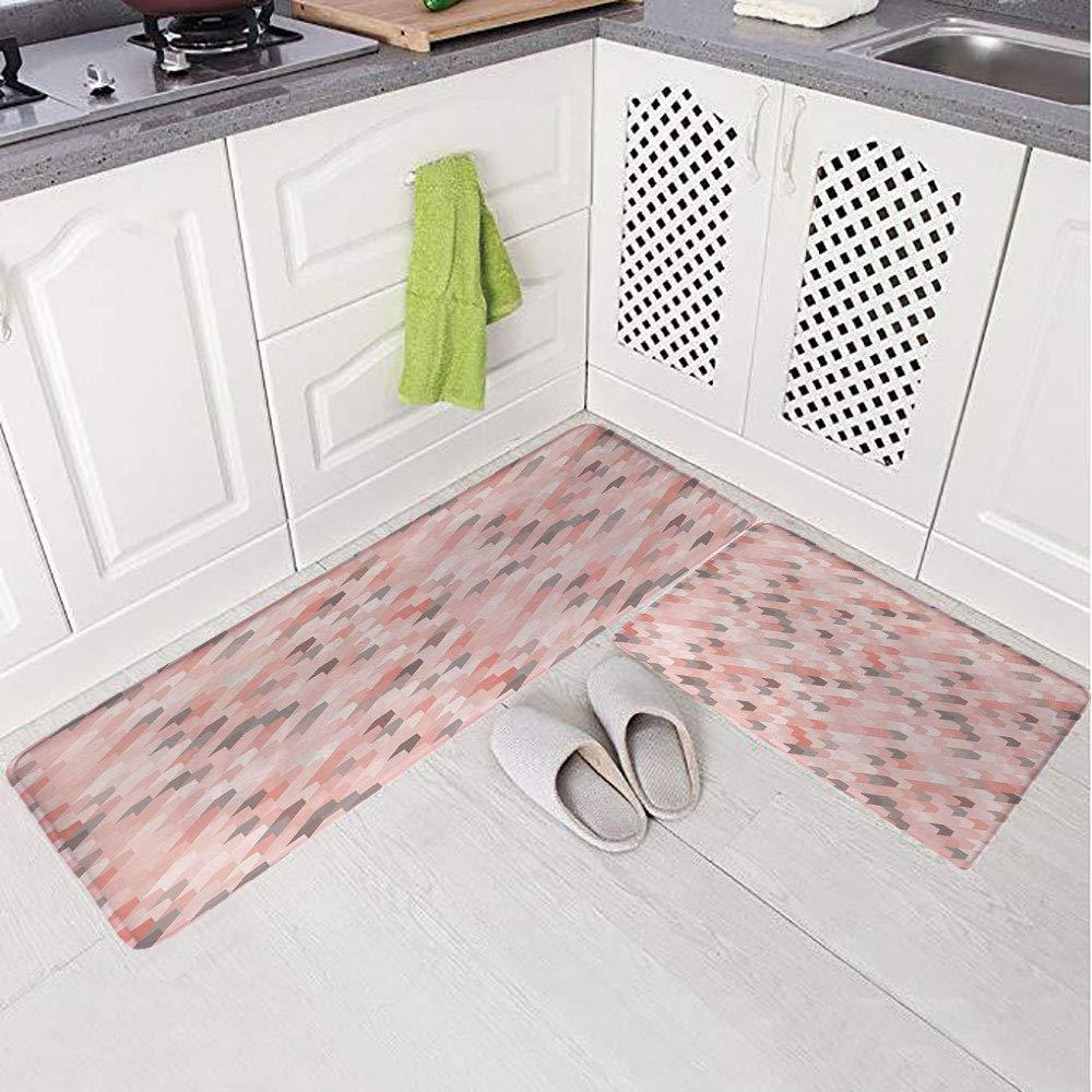 Amazon Com 2 Piece Non Slip Kitchen Mat Rug Set Doormat 3d Print