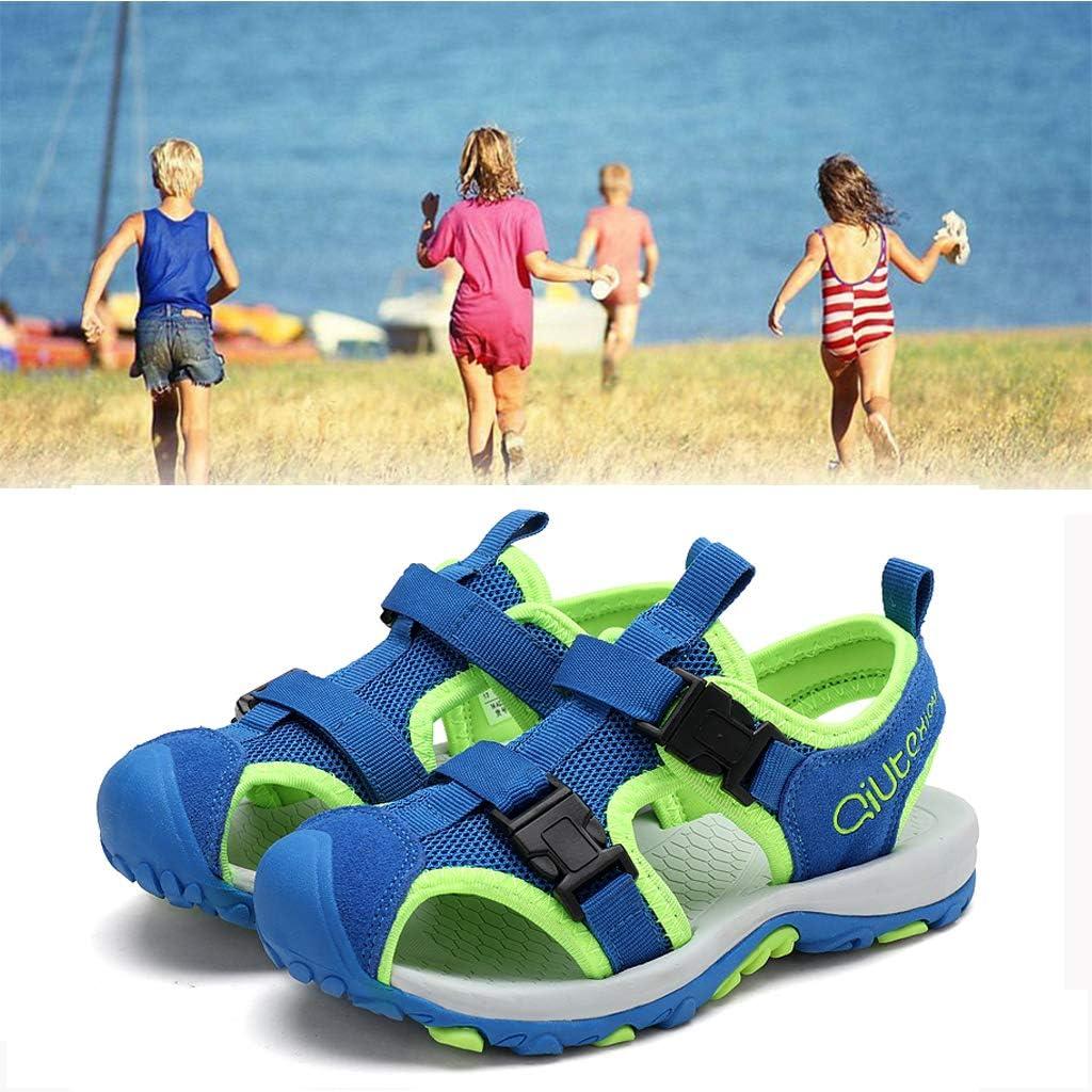 BaiMoJia Sandales Gar/çons Filles Bout ferm/é /Ét/é Chaussures de Sports de Plein air Sandales de Plage