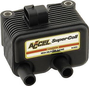 ACCEL 140409 Black Twin Cam Super Coil
