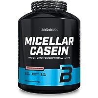 BioTechUSA Micellar Casein, Protein drink powder with Micellar Casein, sugar and sweetener, gluten-free, fat-free, 2.27…