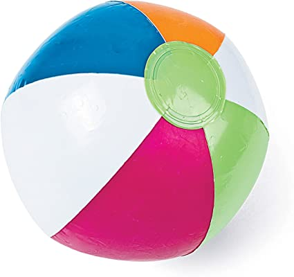"Amazon.com: Una pelota hinchable de playa 12"" ..."