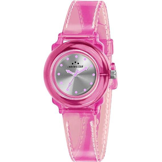 CHRONOSTAR Reloj Analógico para Mujer de Cuarzo con Correa en Silicona R3751268506: Amazon.es: Relojes