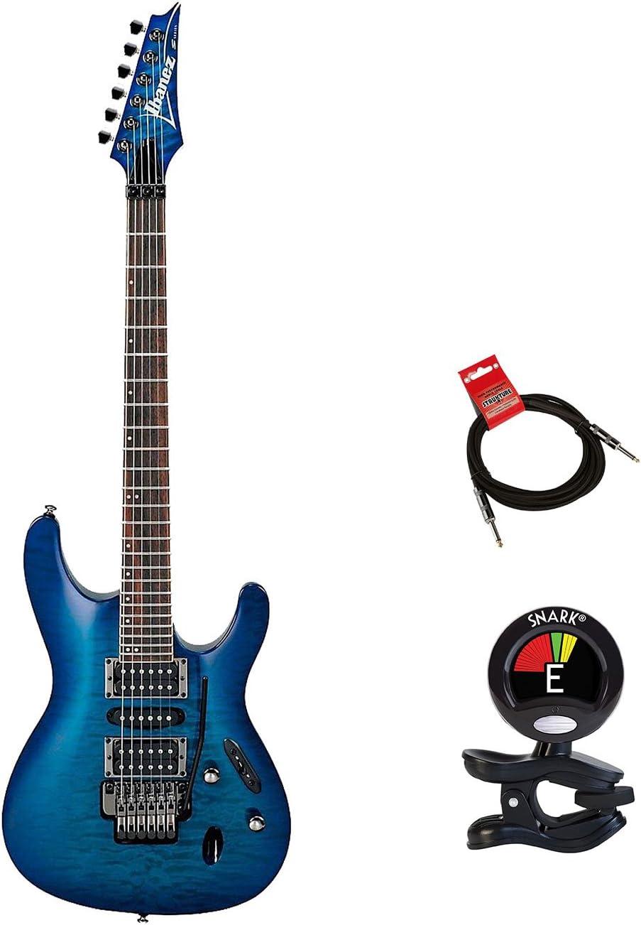 Ibanez s670qm S Series de 6 cuerdas Guitarra eléctrica de cuerpo ...