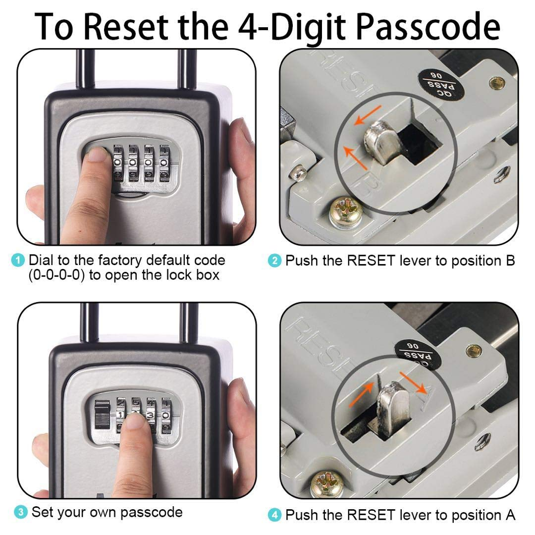 How To Reset A Lock Box Without The Code