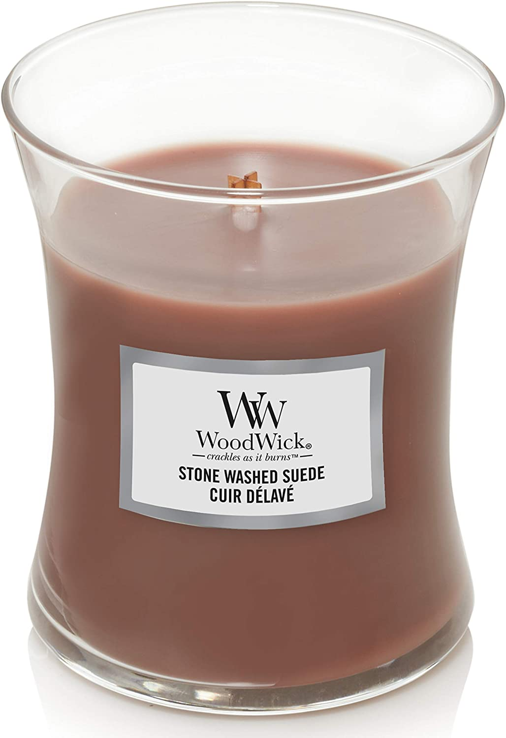 WoodWick Medium Hourglass Scented Candle Wick S Ranking TOP5 Crackling with Ranking TOP5